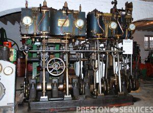 SISSONS Quadruple Expansion Marine Engine