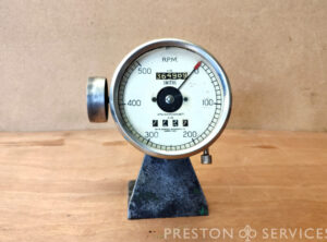 SMITHS 0-500 r.p.m. Revolution Counter (Tachometer)
