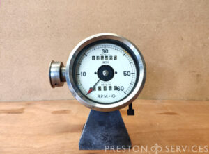 SMITHS 0-60 r.p.m. Revolution Counter (Tachometer)