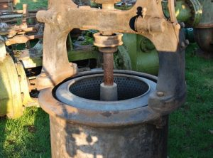 Vintage Spin Dryer, For Belt Driving From a Steam Engine