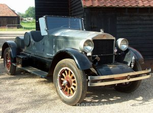 1924 STANLEY 740 Roadster Steam Car