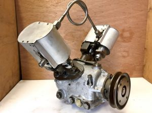 V-Twin Steam Car Engine