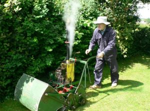 Steam Lawnmower