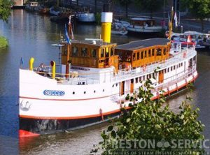 "Vintage Steamship  S.S. ""SUCCESS"""
