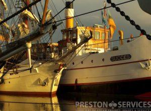 """Vintage Steamship  S.S. """"SUCCESS"""""""