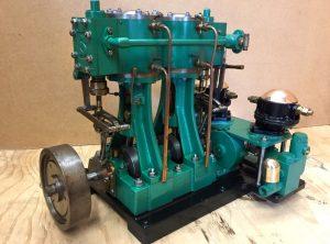 STUART TURNER 'Swan' 2 Cylinder Marine Engine
