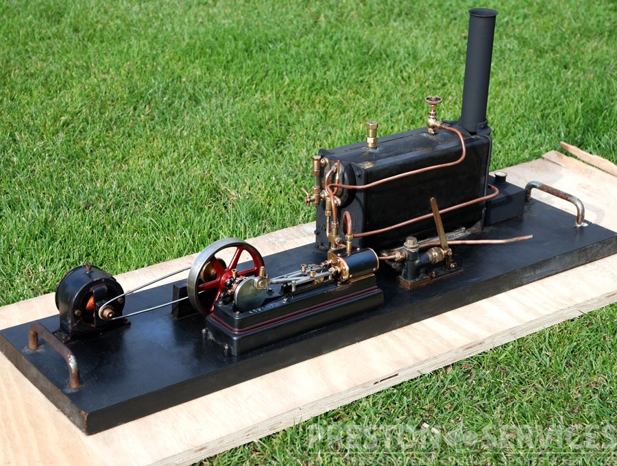 C1930 stuart stationary steam plant preston services for Stationary motors for sale