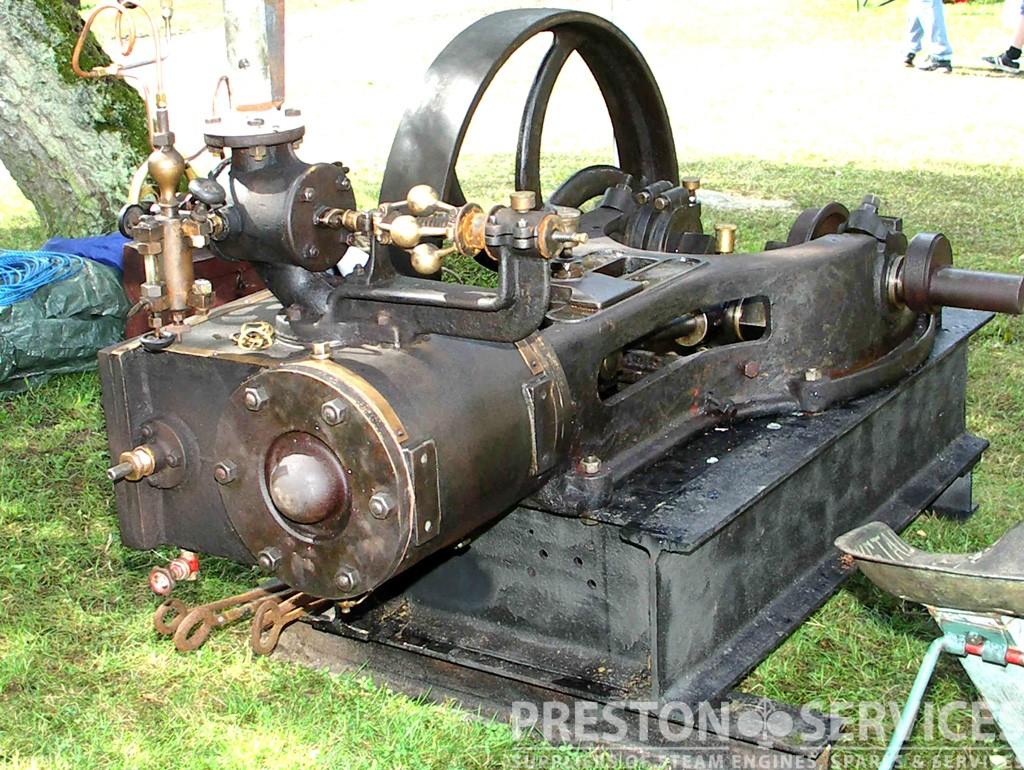 Swedish made horizontal workshop engine preston services for Stationary motors for sale