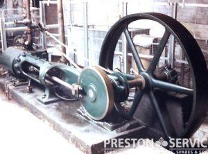 TANGYE & Co.  Single Cylinder Horizontal Mill Engine 8″ x 20″ Cylinder