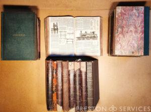 "Bound set of 19th Century ""THE ENGLISH MECHANIC"" Magazines"
