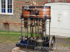 J.I. THORNYCROFT Compound Marine Engine