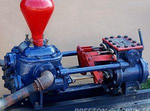 Twin Cylinder Steam Driven Pumps