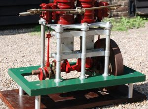 TWIN HIGH PRESSURE Steam Engine