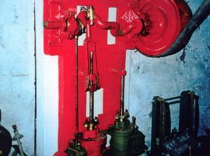 Twin Cylinder Vertical Wall Engine, 3″ x 5″ Cylinders