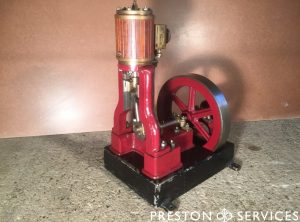 Organ Engine Vertical Single Cylinder