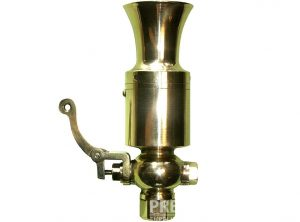 9″ Vertical Trumpet Steam Sirens – No.1