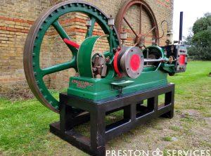 WALLER Single Cylinder Horizontal Workshop Engine