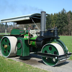 WALLIS & STEEVENS 8 Ton Steam Roller