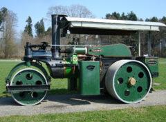 WALLIS & STEEVENS 8 Ton Steam Roller