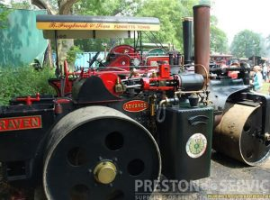 WALLIS & STEEVENS 6 Ton Steam Roller