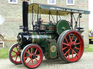WALLIS & STEEVENS Steam Tractor