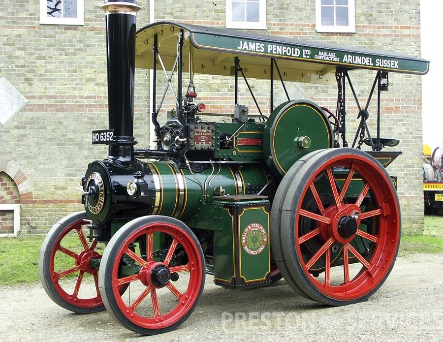 Wallis Steevens Steam Tractor Preston Services