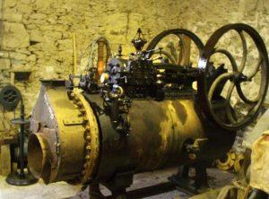 WEYHER ET RICHMOND Semi Portable Steam Engine