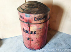 WILCOX Oil Dispenser Cabinet