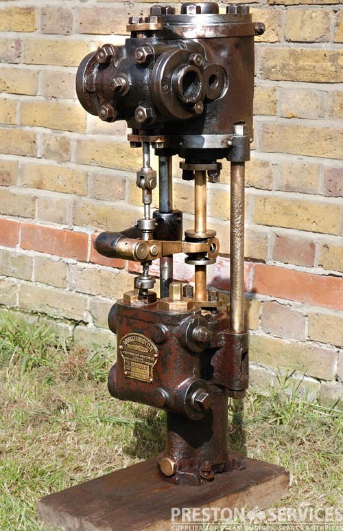 WORTHINGTON SIMPSON Vertical Boiler Feed Pump 3½