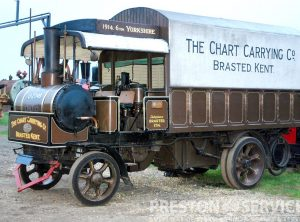 YORKSHIRE 6 Ton Steam Wagon