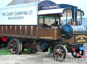 YORKSHIRE 6 Ton Steam Wagon